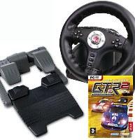 Volant 4in1 Power Feedback Racing Wheel + GTR 2 (PC)
