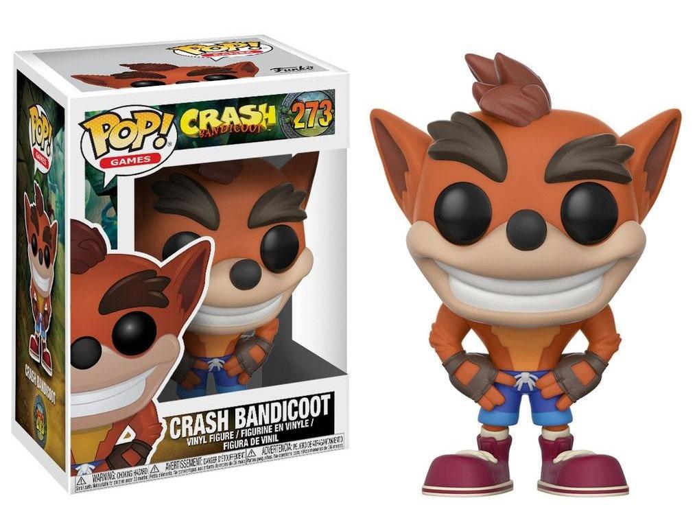 Figurka Crash Bandicoot - Crash (Funko POP! Games 273) (PC)