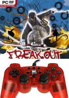 Gamepad Strike2 Transparent Red + Freak Out (PC)