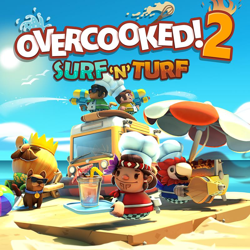 Overcooked! 2 - Surf and Turf (PC) Klíč Steam (PC)