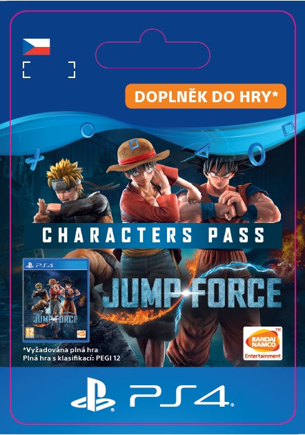 JUMP FORCE - Characters Pass (PS4 DIGITAL)