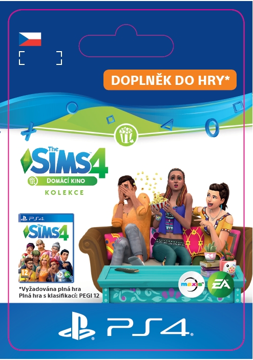 The Sims™ 4 Movie Hangout Stuff (PS4 DIGITAL)