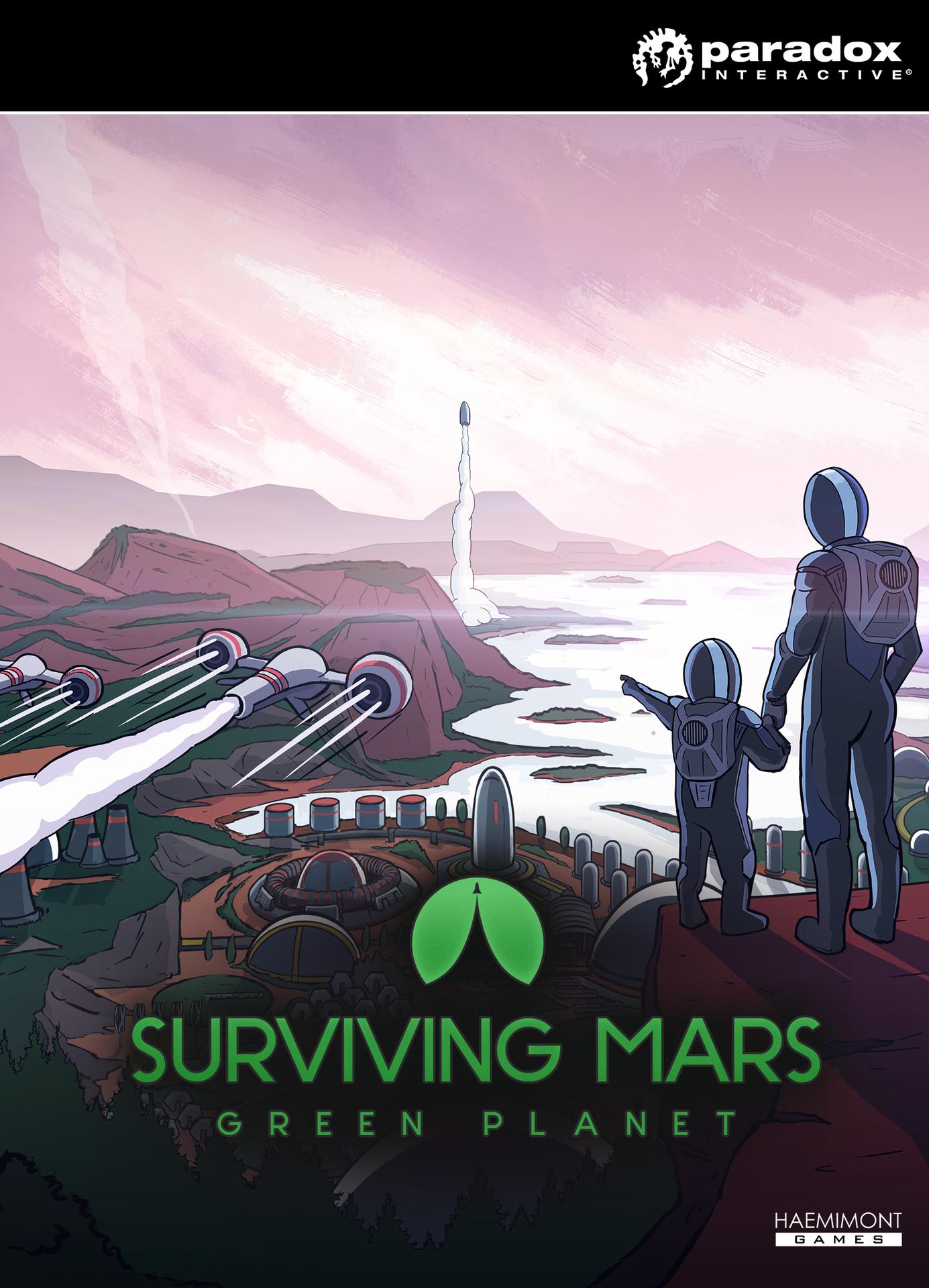 Surviving Mars: Green Planet (PC) Klíč Steam (PC)