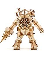 Stavebnice Bioshock - Big Daddy (dřevěná)
