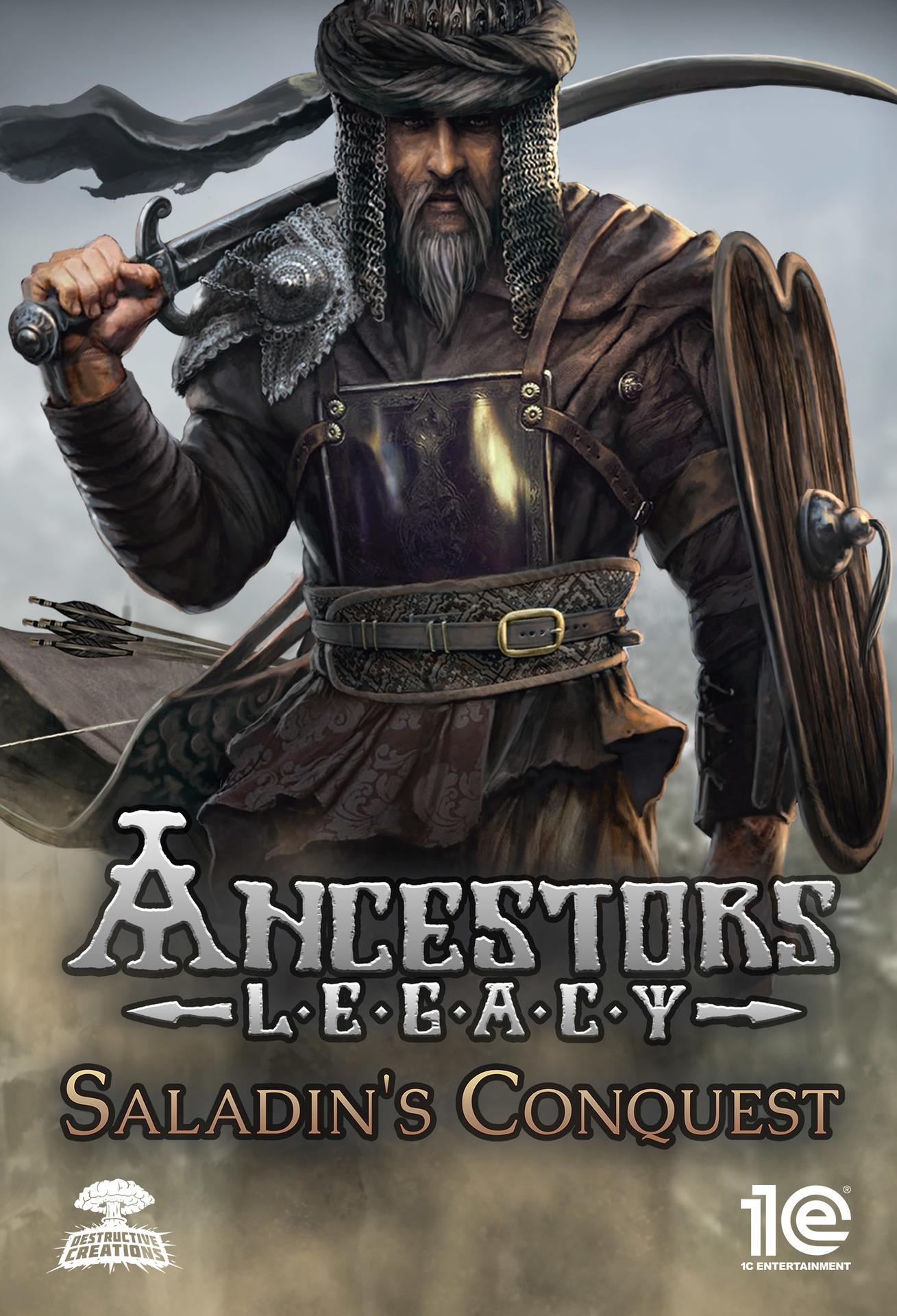 Ancestors Legacy - Saladin's Conquest (PC) Klíč Steam (PC)