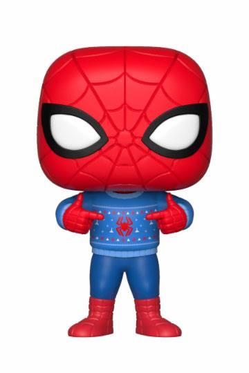 Figurka Marvel - Spider-Man Holiday Ugly Sweater (Funko POP! Bobble-Head) (PC)
