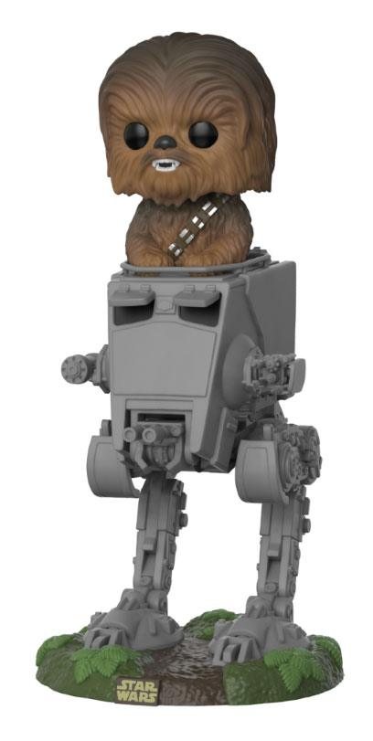 Figurka Star Wars - Chewbacca with AT-ST Deluxe (Funko POP!) (PC)