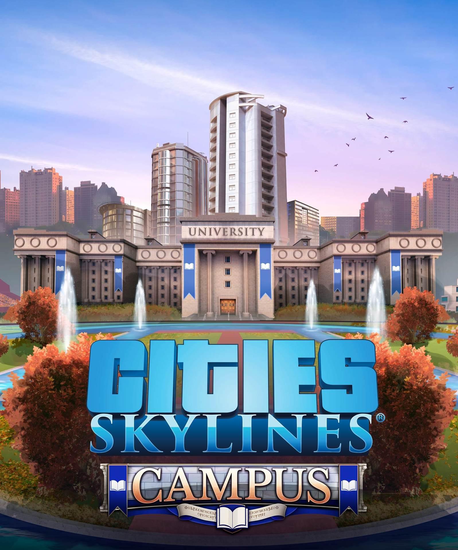 Cities: Skylines - Campus (PC) Klíč Steam (PC)