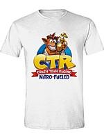 Tričko Crash Team Racing - Nitro Fueled Logo (velikost M) (PC)