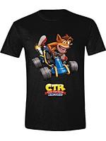 Tričko Crash Team Racing - Crash Car (velikost XL) (PC)