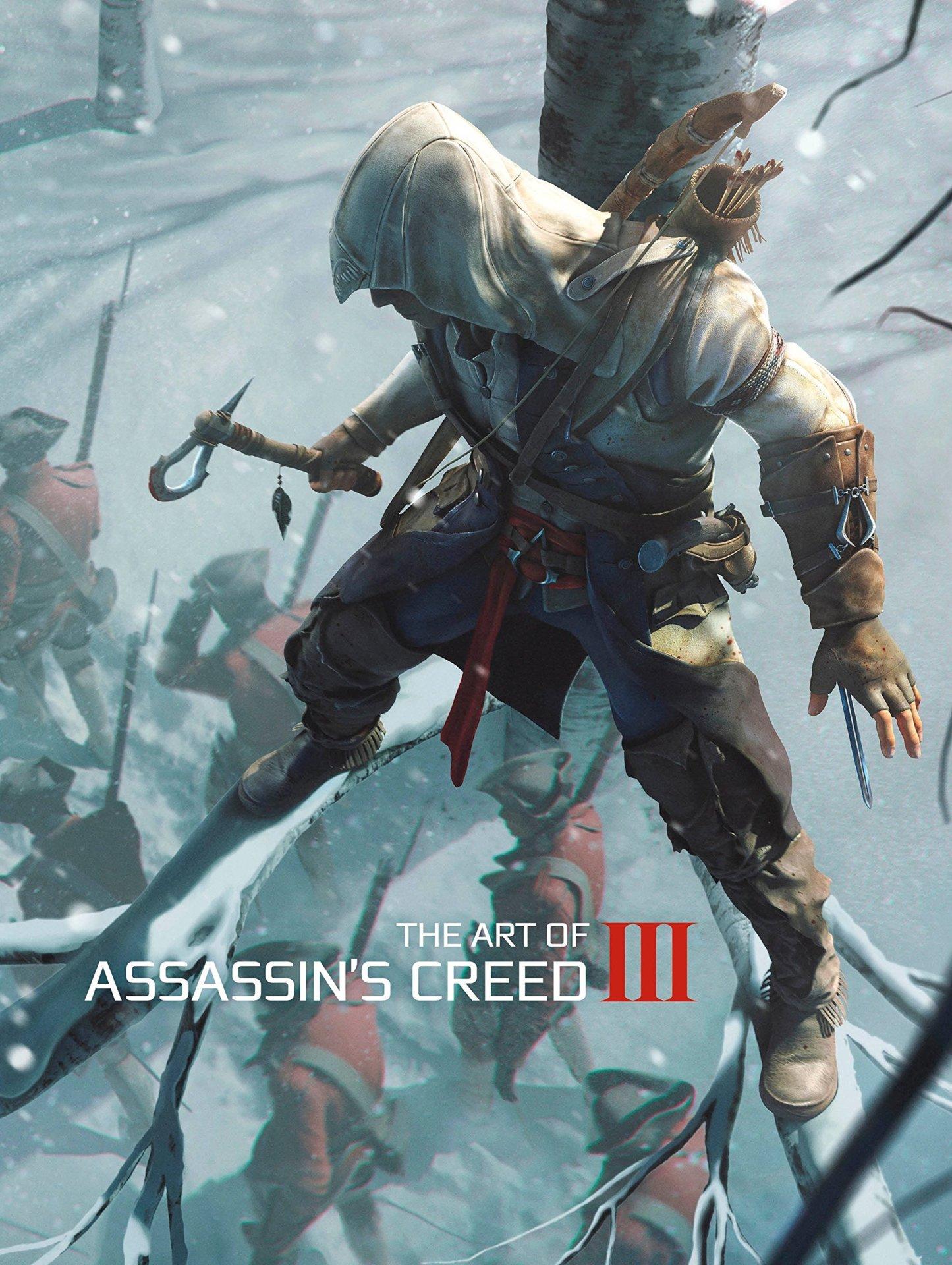 Kniha The Art of Assassins Creed III (PC)