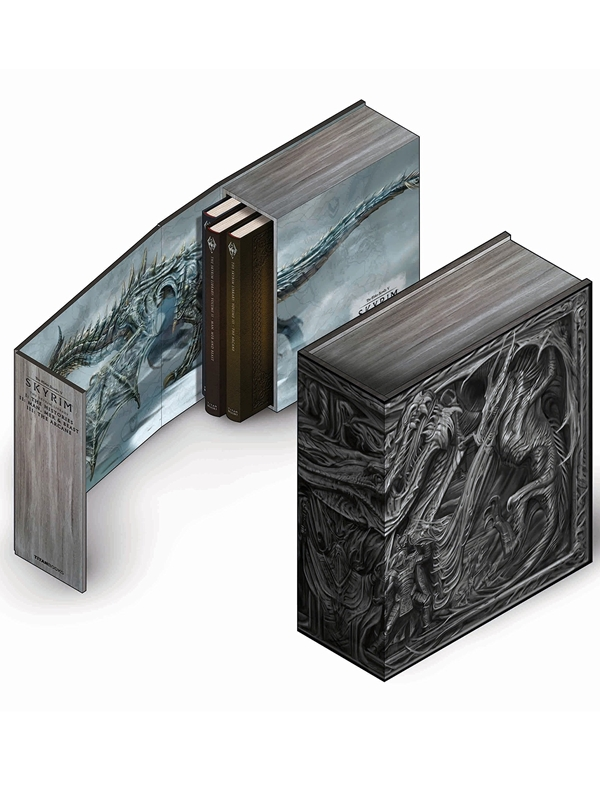 Kniha The Skyrim Library - Volumes I, II & III (Box Set) (PC)