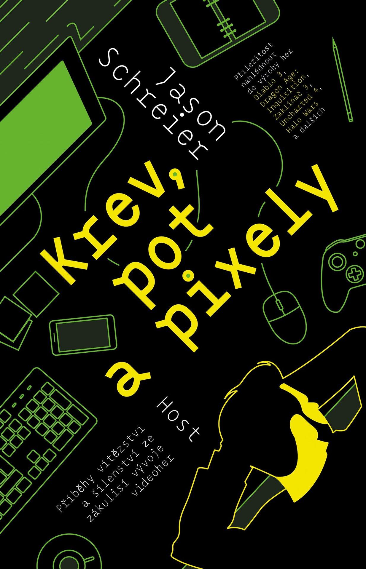 Kniha Krev, pot a pixely (PC)