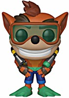 Figurka Crash Bandicoot - Scuba Crash (Funko POP!)