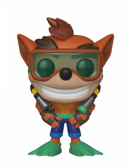 Figurka Crash Bandicoot - Scuba Crash (Funko POP! Games 421) (PC)