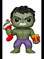 Figurka Marvel - Holiday Hulk with Stockings & Plush (Funko POP! Bobble-Head)