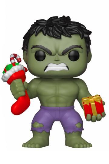 Figurka Marvel - Holiday Hulk with Stockings & Plush (Funko POP! Marvel 398) (PC)