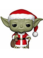 Figurka Star Wars - Santa Yoda (Funko POP! Bobble-Head)