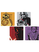 Talíře Star Wars - BB-8, Stormtrooper, Kylo Ren a Phasma