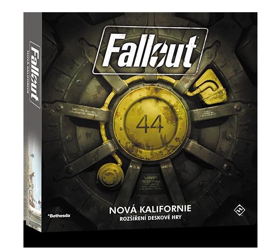 Desková hra Fallout - Nová Kalifornie CZ (rozšíření) (PC)