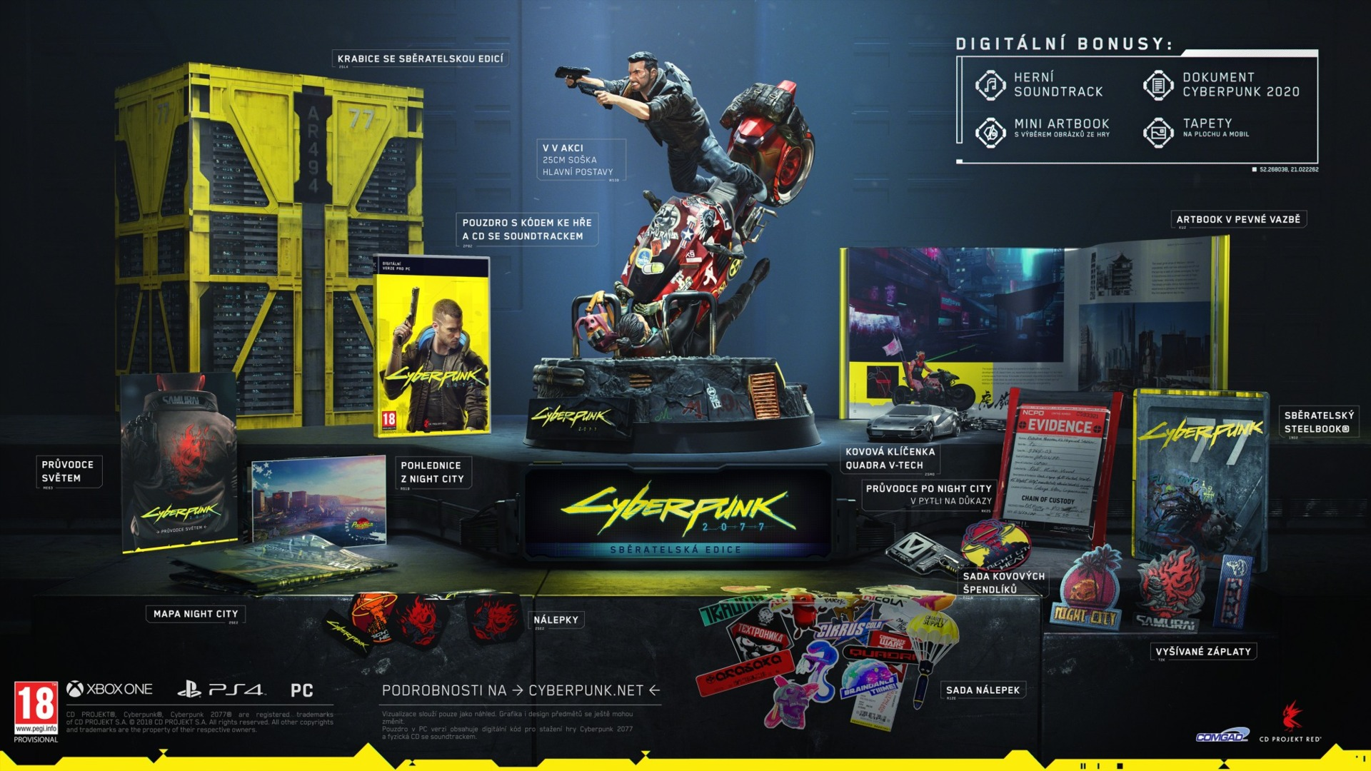 Cyberpunk 2077 - Collectors Edition (PC)