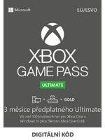 Microsoft Xbox Game Pass Ulimate - 3 měsíce