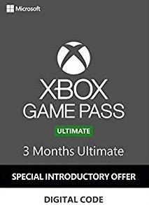 Microsoft Xbox Game Pass Ulimate - 3 měsíce SLEVA 50% (XONE)