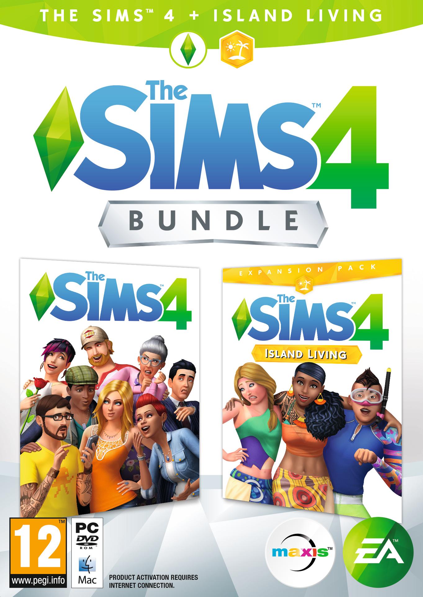 The Sims 4 + rozšíření Život na Ostrově (PC)