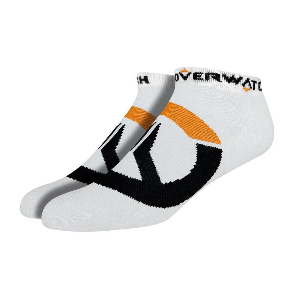 Ponožky Overwatch - bílé (3 páry) (PC)