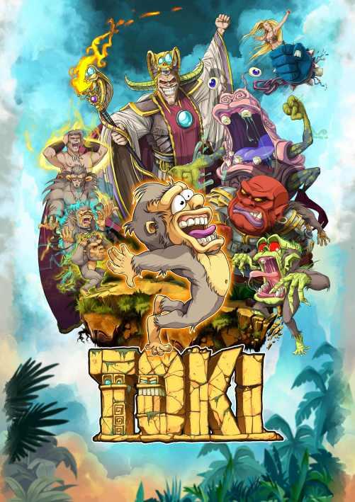 Toki (PC) Klíč Steam (PC)