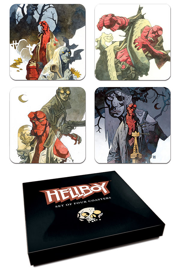 Podtácky Hellboy (PC)