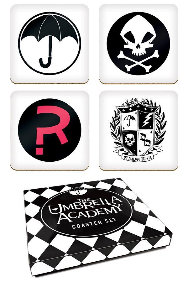 Podtácky The Umbrella Academy (PC)