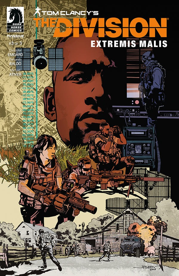 Komiks Tom Clancys The Division Extremis Malis #3 (PC)
