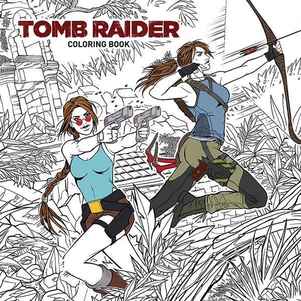 Omalovánky pro dospělé Tomb Raider (PC)