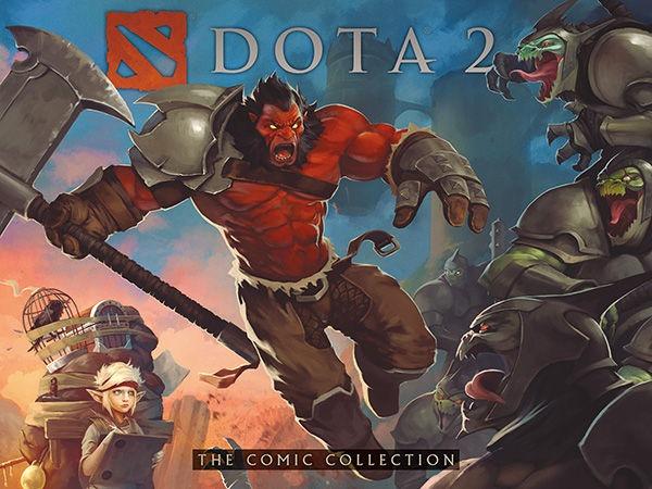 Komiks DOTA 2 - The Comic Collection (PC)
