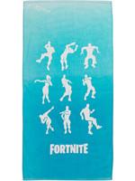 Ručník Fortnite - Taneční pózy (tyrkysový)