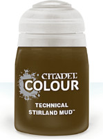 Citadel Technical Paint (Stirland Mud) - texturová barva - bahno