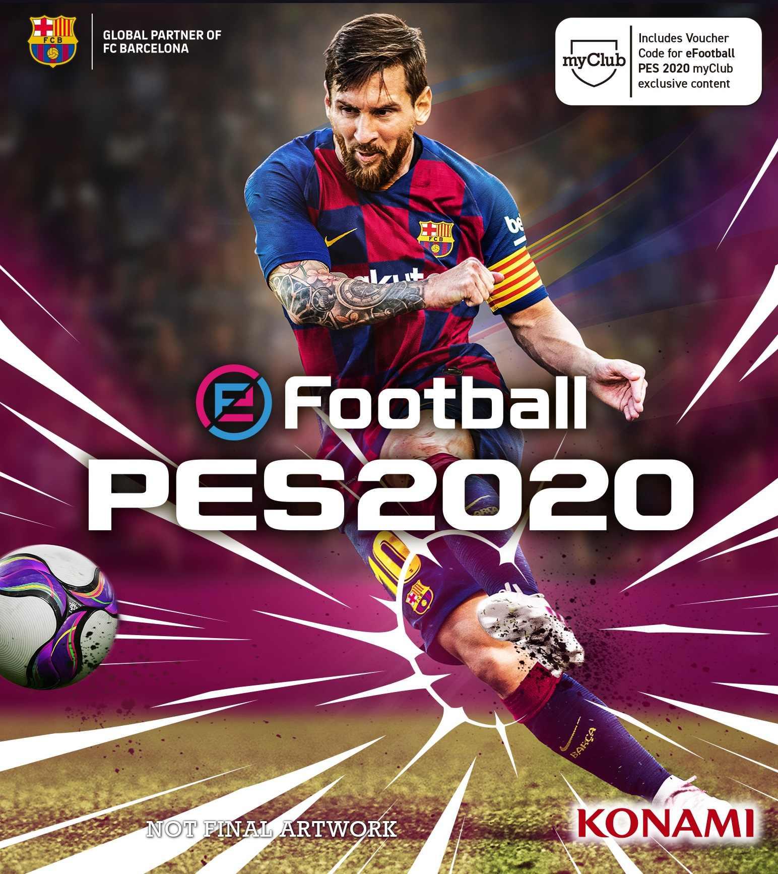 eFootball PES 2020 (PC) Klíč Steam (PC)
