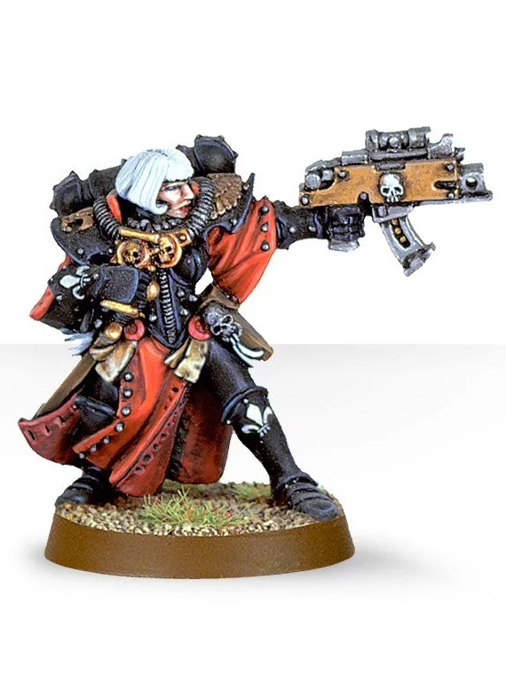 W40k: Sister Superior with Bolter (PC)