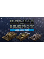 Hearts of Iron IV: Axis Armor Pack (PC) Klíč Steam