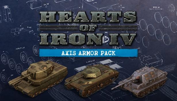 Hearts of Iron IV: Axis Armor Pack (PC) Klíč Steam (PC)