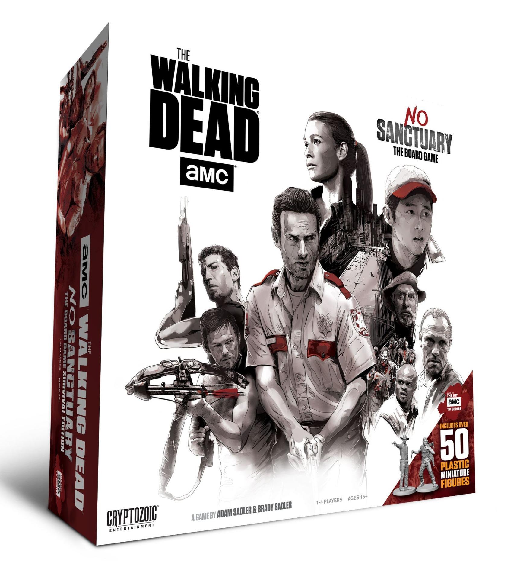 Desková hra Walking Dead Board Game No Sanctuary (EN) (PC)