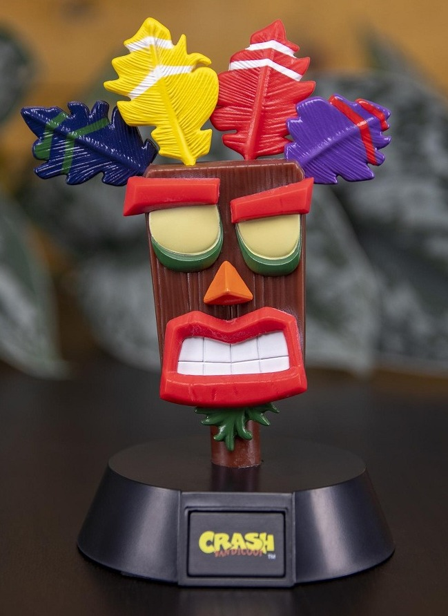 Lampička Crash Bandicoot - Aku Aku Icon Light (PC)