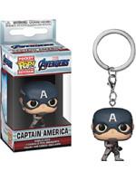 Levně Klíčenka Avengers - Captain America (Funko)