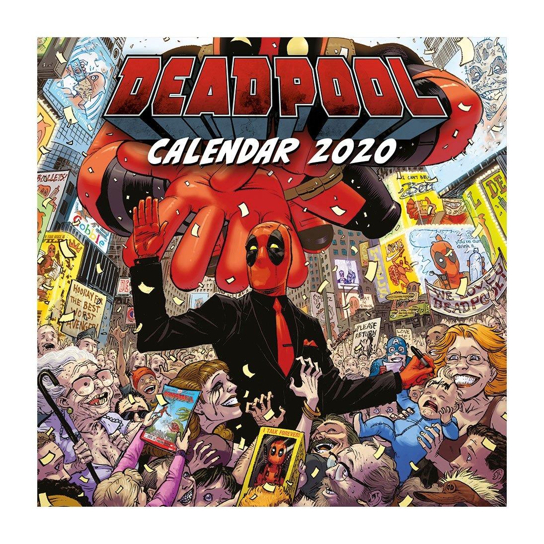 Kalendář Deadpool 2020 (PC)