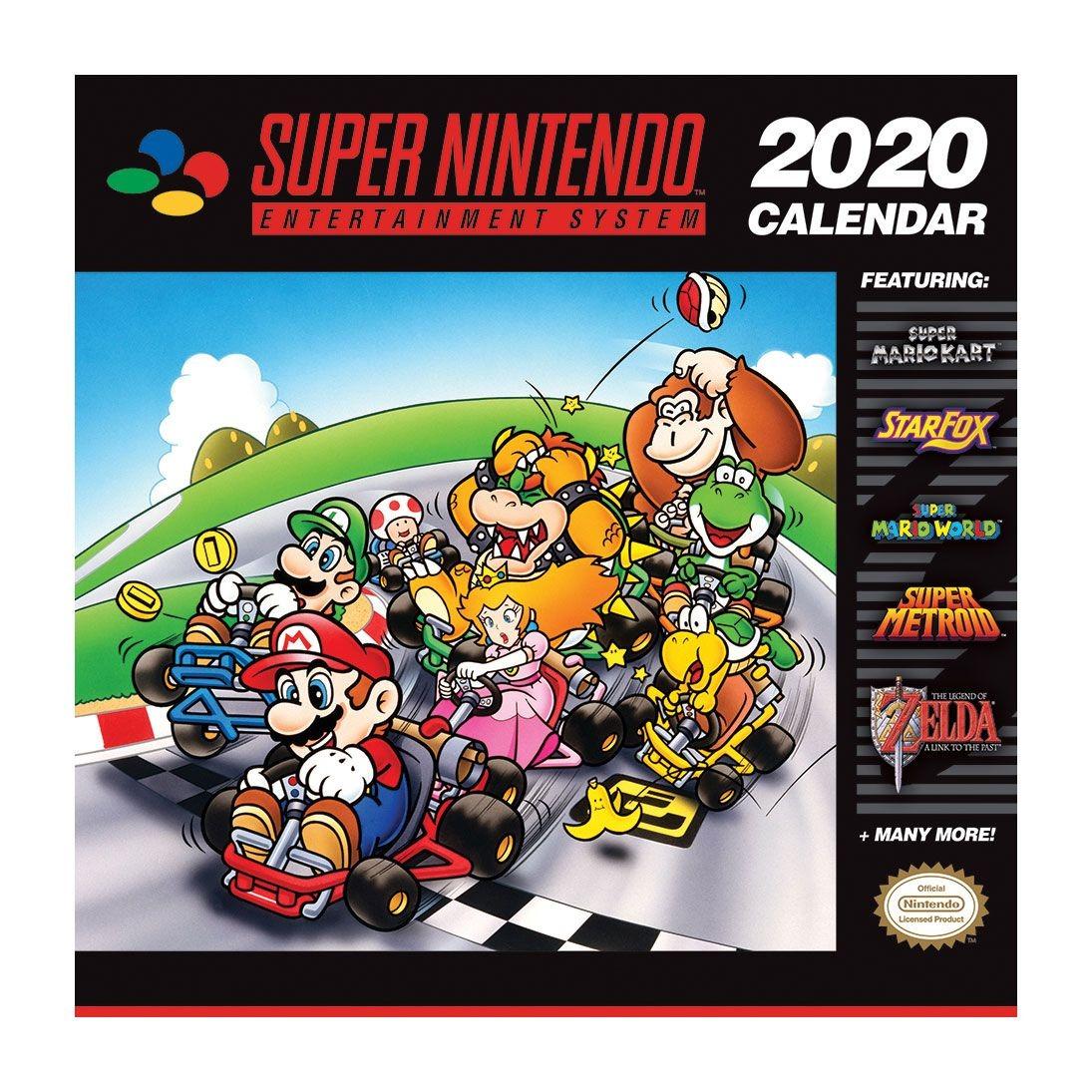 Kalendář Super Nintendo 2020 (PC)