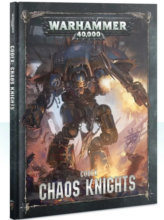 Kniha W40k: Codex: Chaos Knights (2019) (PC)