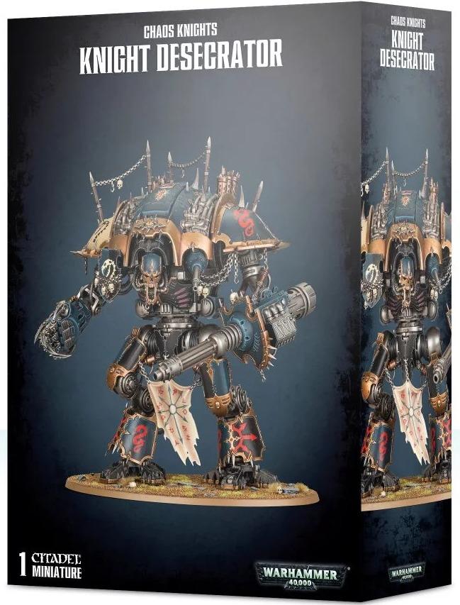 W40k: Chaos Knight: Knight Desecrator (1 figurka) (PC)