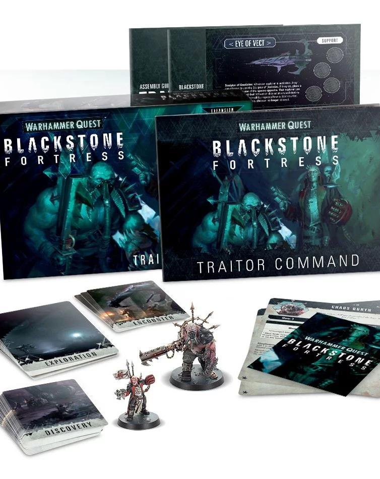 Desková hra Warhammer Quest: Blackstone Fortress - Traitor Command (rozšíření) (PC)
