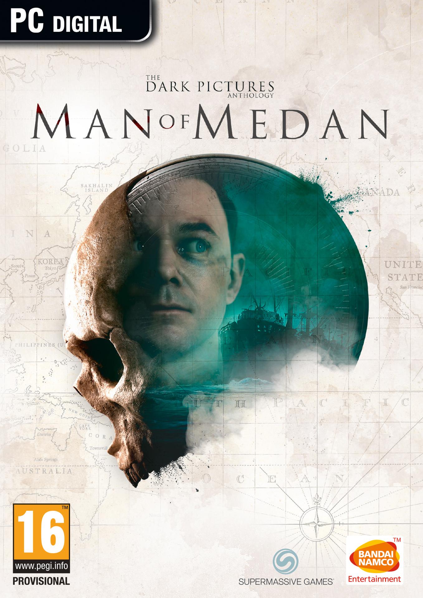 The Dark Pictures Anthology: Man Of Medan (PC) Klíč Steam (PC)